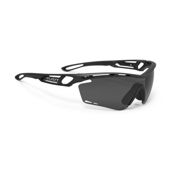 TRALYX BLACK/POLAR 3FX GREY LASER kerékpáros szemüveg