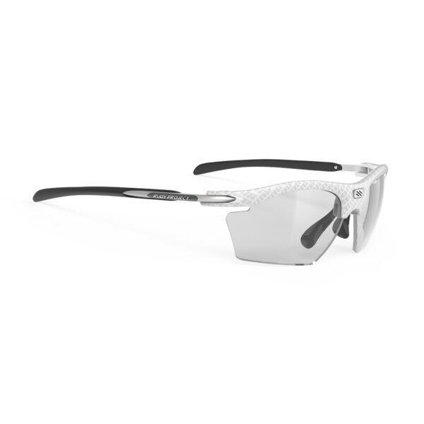 RYDON SLIM WHITE CARBONIUM/IMPACTX2 PHOTOCHROMIC BLACK kerékpáros szemüveg