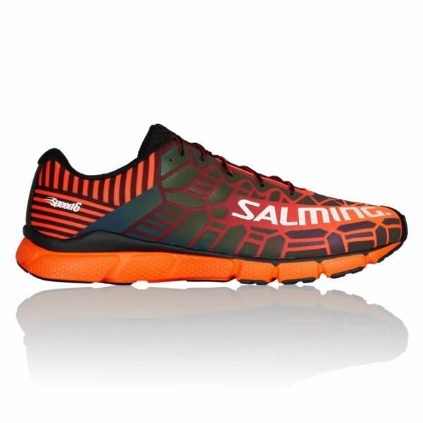 Salming Speed 6 - 2019 - férfi futócipő - narancs/fekete