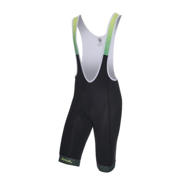 Spiuk nyári kerékpáros nadrág EDITION, fekete-zöld