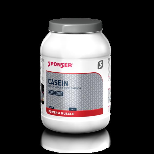 Sponser Casein fehérjepor, 850g, több ízben