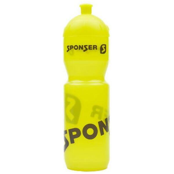 Sponser kulacs (750ml), átlátszó sárga